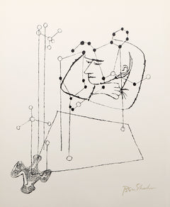 Ben Shahn, Many Things from the Rilke Portfolio Lithograph - RoGallery