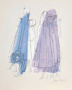 Ben Shahn, To Days of Childhood from the Rilke Portfolio Lithograph - RoGallery