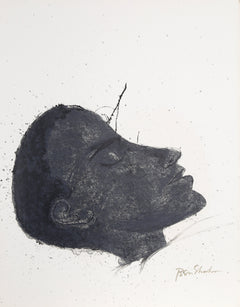 Ben Shahn, Beside the Dying from the Rilke Portfolio Lithograph - RoGallery