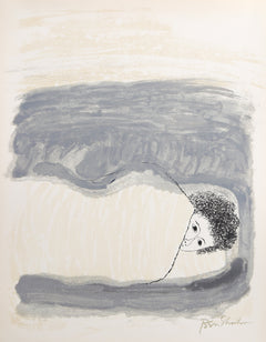 Ben Shahn, To Childhood Illnesses from the Rilke Portfolio Lithograph - RoGallery