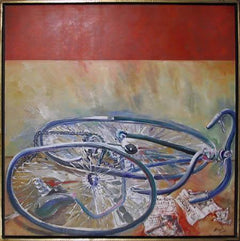 Benjamin Silva, The Careless Cyclist Acrylic - RoGallery