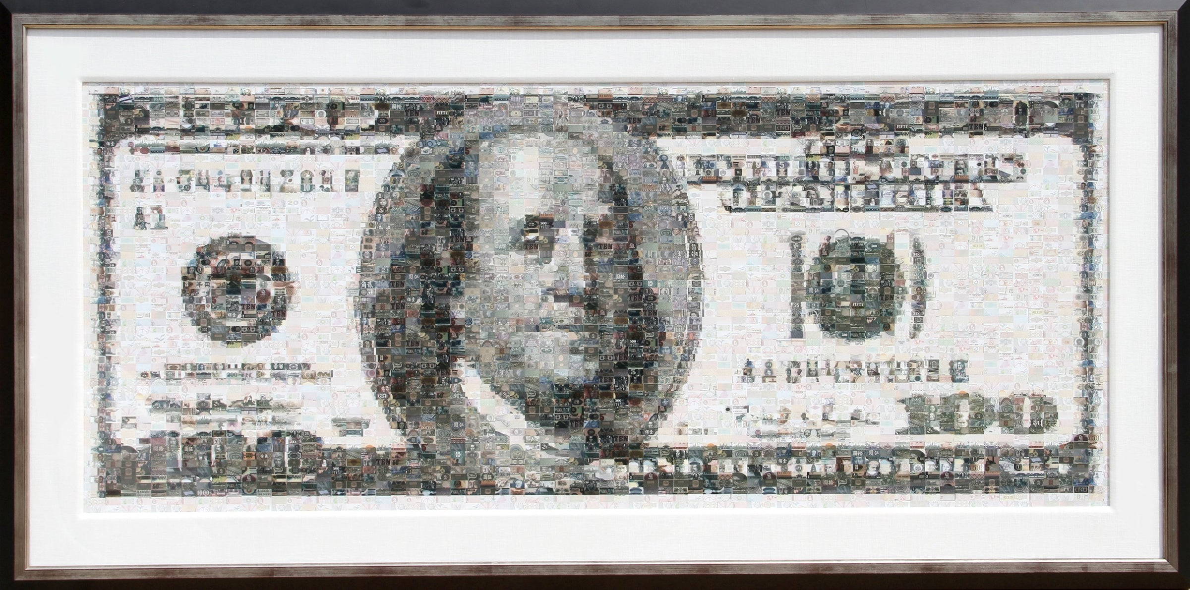 Robert Silvers, 100 Dollar Bill Black and White - RoGallery