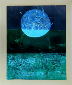 Evelyn Mitchell Solomon, I Saw the Night Mixed Media - RoGallery