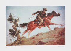 Shannon Stirnweis, Cowboy and Horse Lithograph - RoGallery