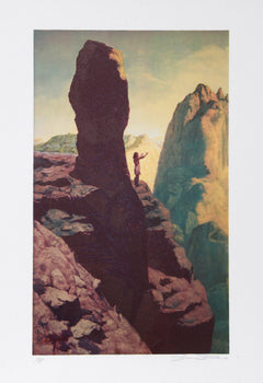 Shannon Stirnweis, Oh Great Spirit Send Me A Vision Lithograph - RoGallery