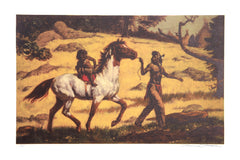 Shannon Stirnweis, The Riding Lesson Lithograph - RoGallery