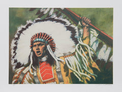 Shannon Stirnweis, War Flag Lithograph - RoGallery