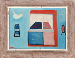 Daniel T., House with Bird Oil - RoGallery
