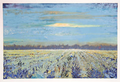 William Tolliver, In the Fields Screenprint - RoGallery