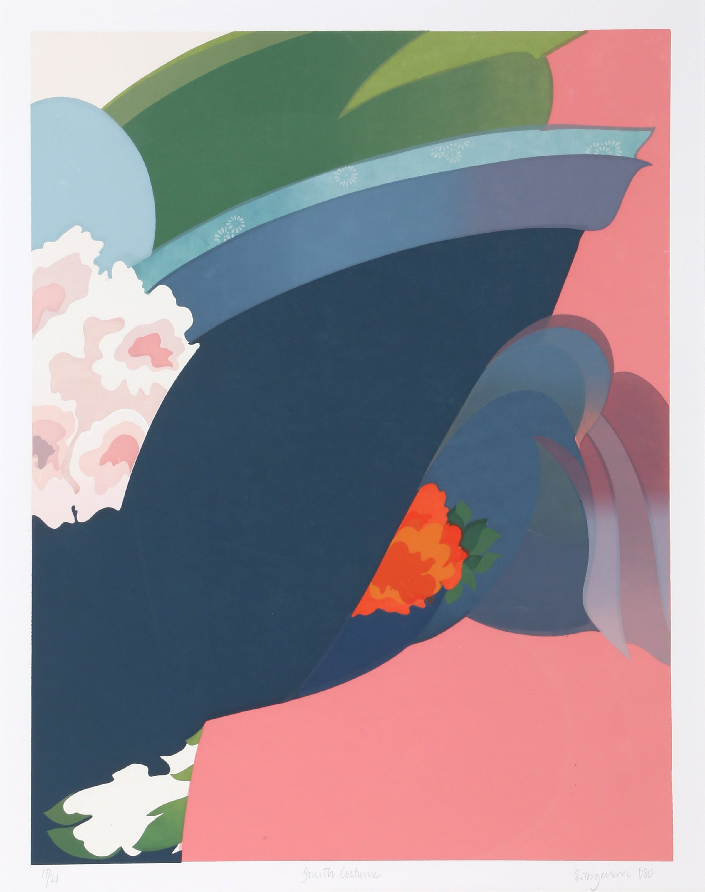 Eugenie Torgerson, Fourth Costume Screenprint - RoGallery