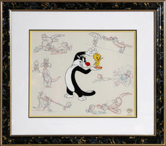 Warner Bros. Cartoons, Sylvester and Tweety Drawings Comic Book / Animation - RoGallery