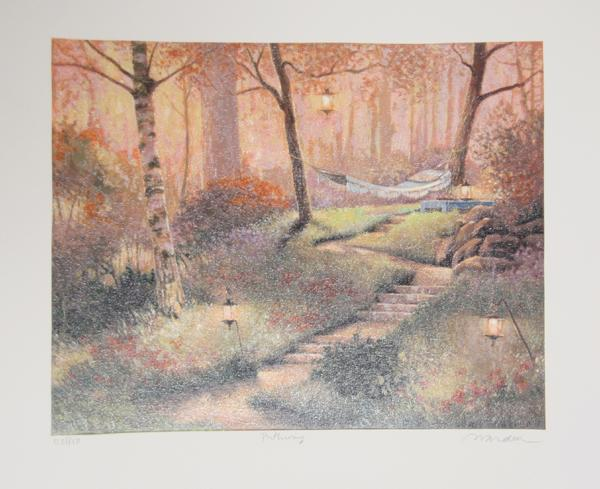Andrew Warden, Pathway Lithograph - RoGallery