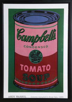 Andy Warhol, Colored Campbell's Soup Can, 1965 Oil - RoGallery