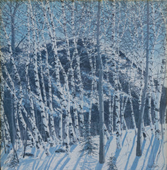 Neil Welliver, The Birches Poster - RoGallery