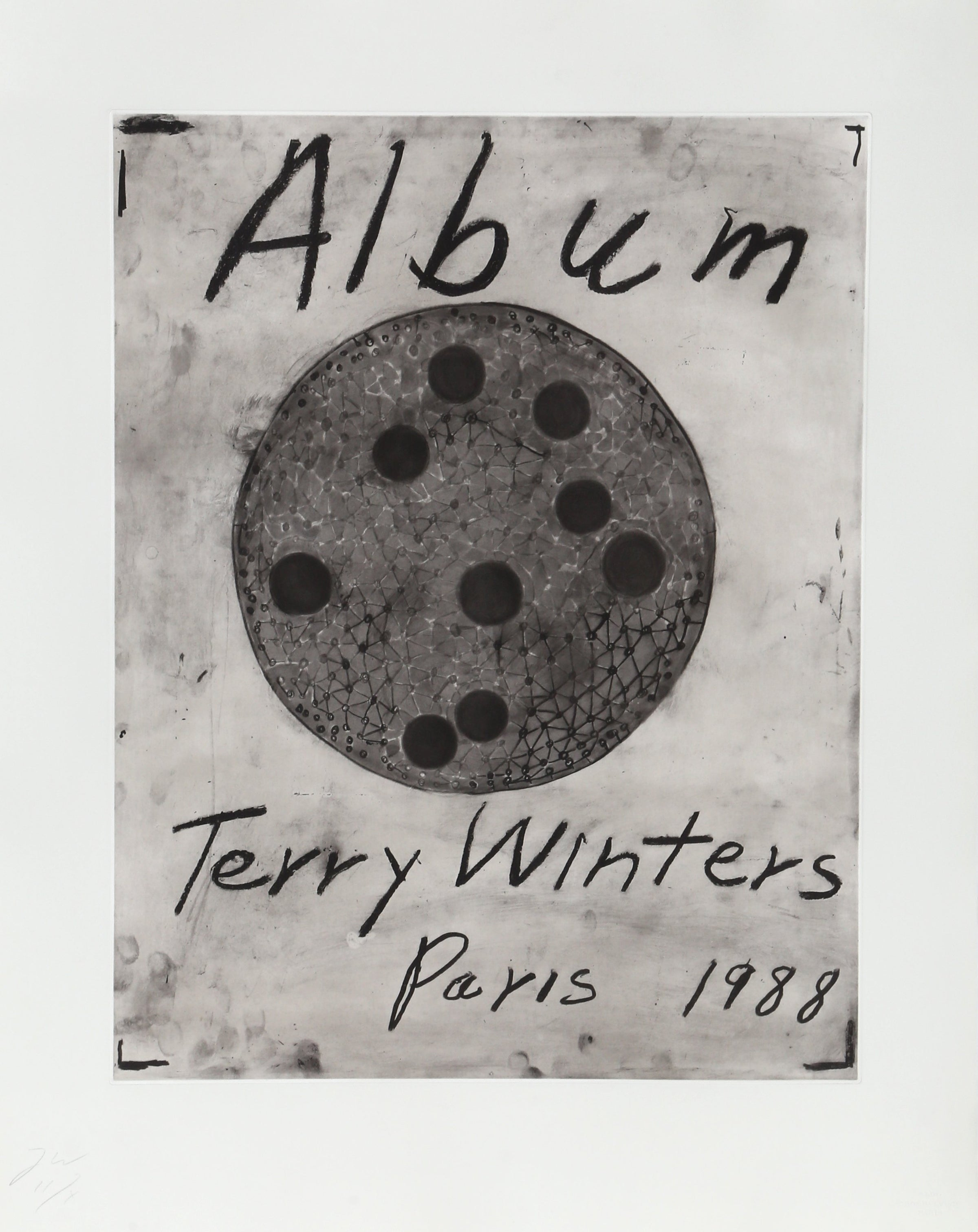 Terry Winters, Album - Title Page Etching - RoGallery