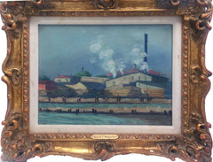Eleanor Wragg, River Factory Oil - RoGallery