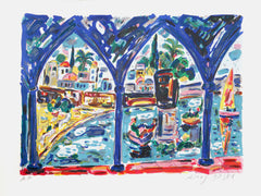 Amos Yaskil, Venice Lithograph - RoGallery