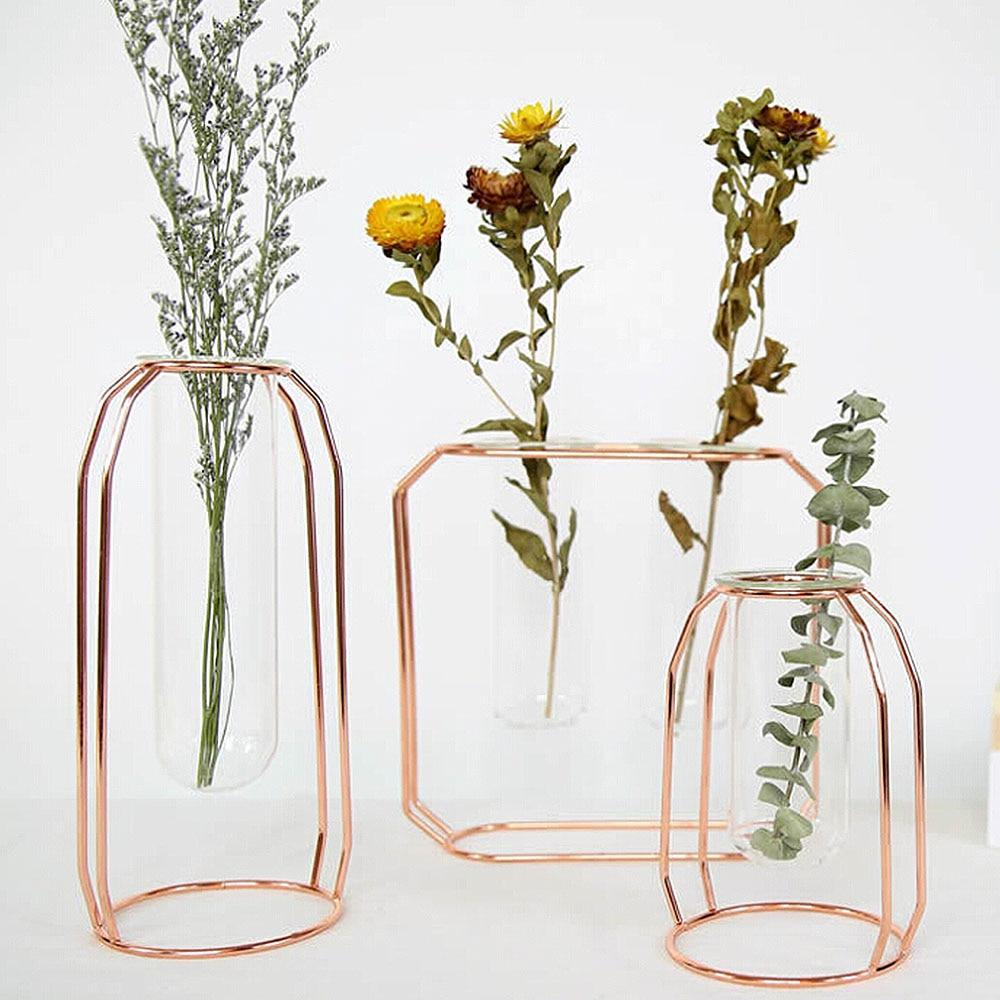 Geometric Floating Vase