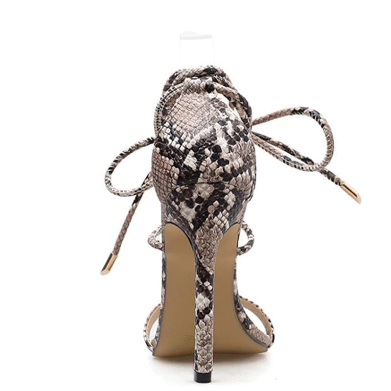 Serpentine Sandal