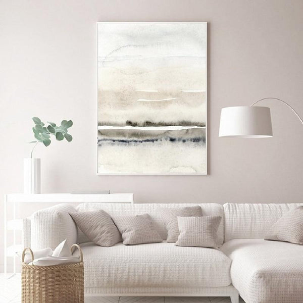 Nordic Watercolor Canvas