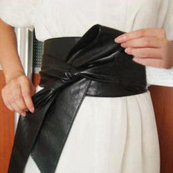 Wide Bow Waistband