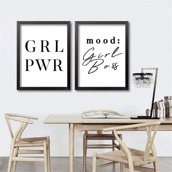 Girl Power Canvas