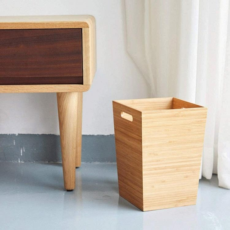 Bamboo Waste Basket