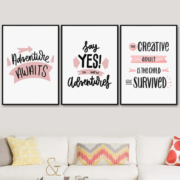 Adventure Awaits Canvas Art