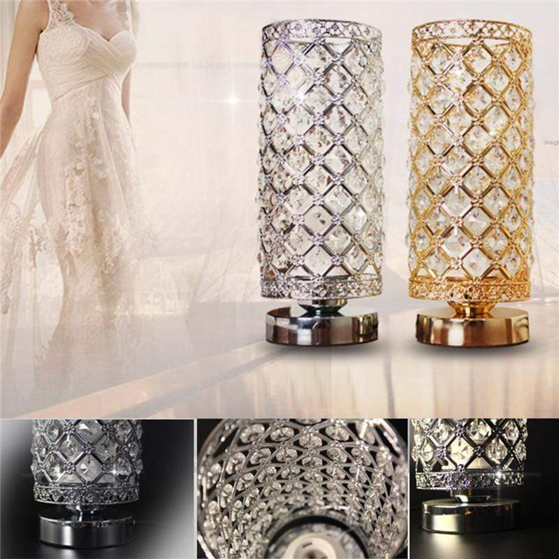Crystal Desk Lamp