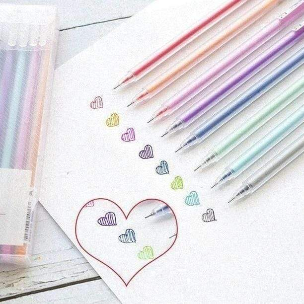 Coloured Gel Pens
