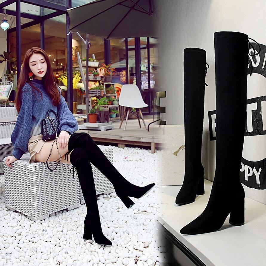 Rianne Thigh High Boots
