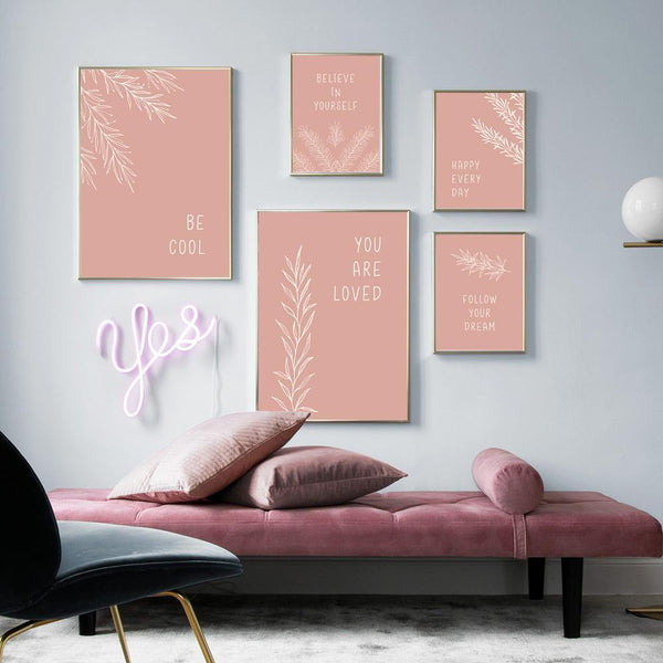 Pink Power Canvas