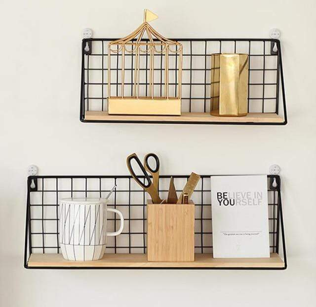 Grid Floating Shelf