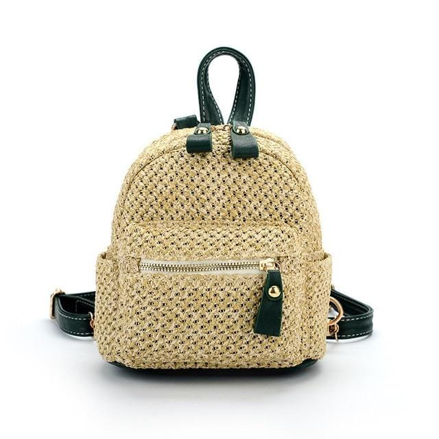 Micro Woven Backpack