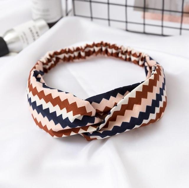 Printed Knot Headband