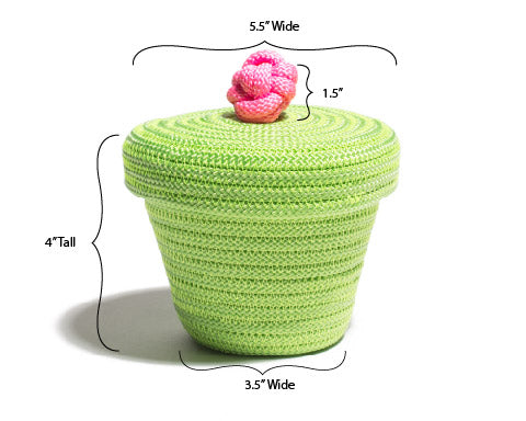Bon Bon Mini Basket - Green