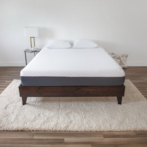 "10"" Plush 3-layer Gel-Infused Mattress"