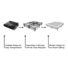 Load image into Gallery viewer, 1Base Steel Mattress Foundation