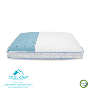 Cool Coat Memory Foam Performance Pillow