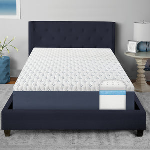 "Luxury 10"" Plush Gel Infused Memory Foam Mattress"