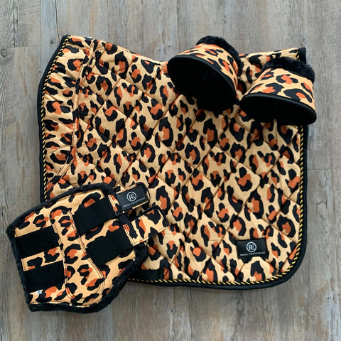 rebel equestrian leopard dressage equestrian set Langley