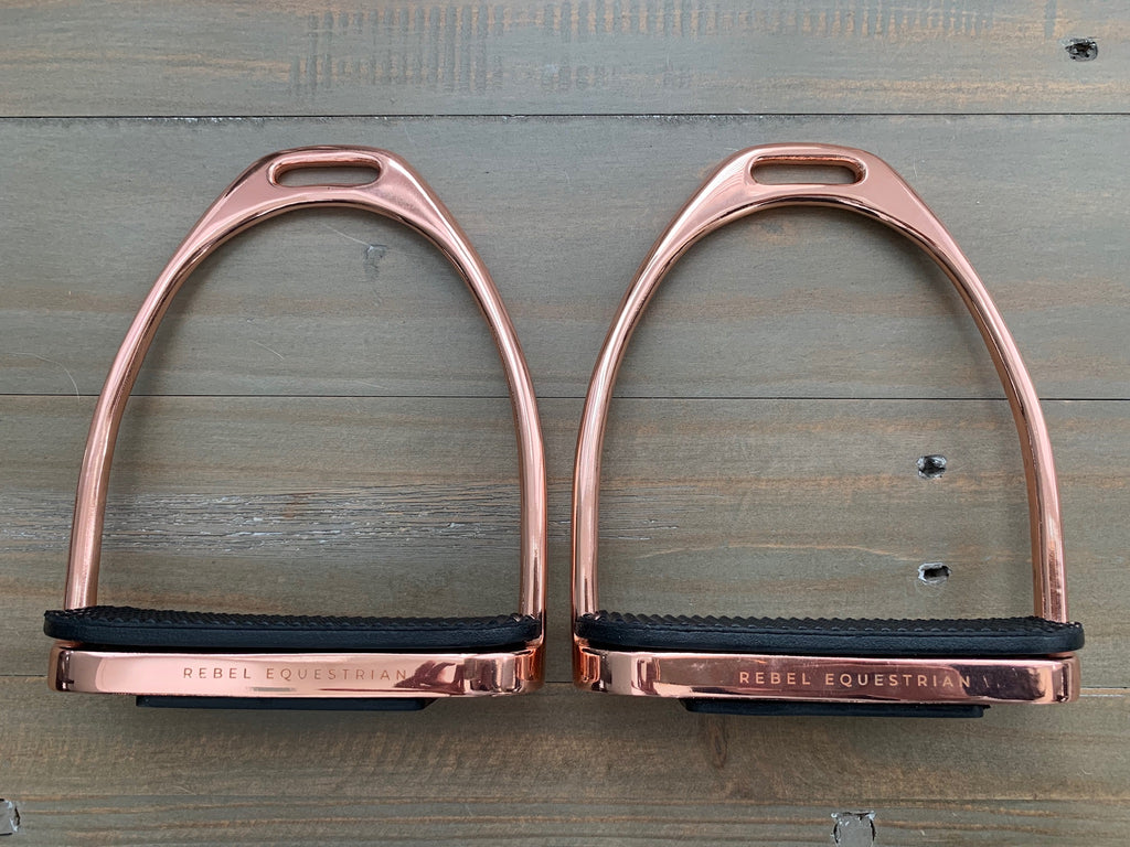 Rose Gold Stirrups