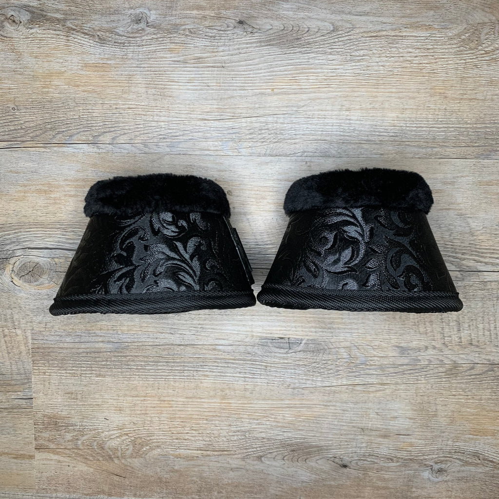 Raven Damask Bell Boots