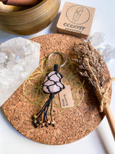 Load image into Gallery viewer, Rose Quartz Macrame