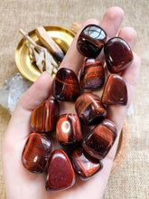 Load image into Gallery viewer, Red Tiger's Eye Tumbled
