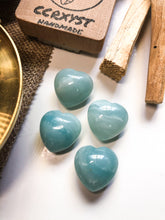 Load image into Gallery viewer, Amazonite Miniature Heart