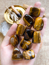 Load image into Gallery viewer, Tiger Eye Tumbled