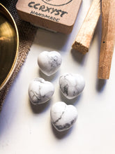 Load image into Gallery viewer, White Howlite Miniature Heart