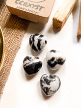 Load image into Gallery viewer, Zebra Jasper Miniature Heart