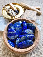 Load image into Gallery viewer, Lapis Lazuli Tumbled Set
